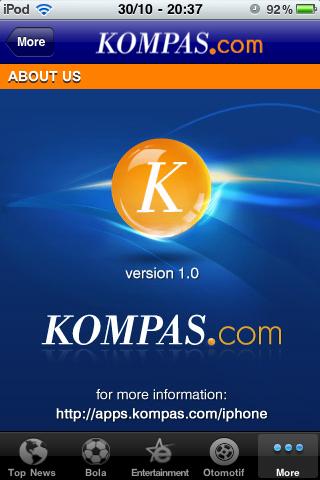 Kompas App for iPhone – Yuan's Blog